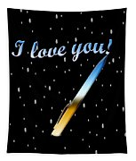 Love Message Digital Painting Tapestry