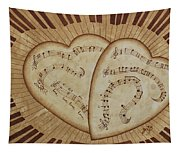 Love Song Of Our Hearts Tapestry
