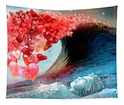 Love Wave Tapestry