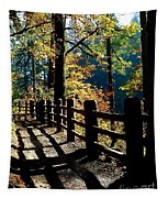 Lovely Day For Hike Tapestry