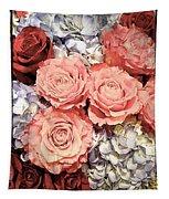 Lovely Flowers Tapestry