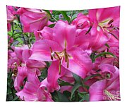 Lovely Lilies  Tapestry