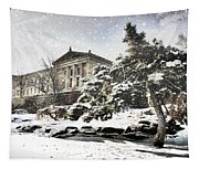 Lovely Snow On The Museum Tapestry
