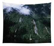 Low Angle View Of A Mountain, Milford Tapestry
