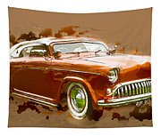 Low Rider Car Tapestry