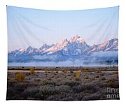 Low Sunrise Clouds Tapestry