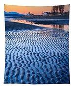 Low Tide In Seattle Tapestry