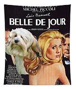 Lowchen Art - Belle De Jour Movie Poster Tapestry