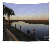 Lowcountry Winter Marsh Tapestry
