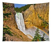Lower Falls From Uncle Toms Trail Tapestry