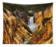 Lower Falls Yellowstone Tapestry
