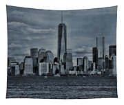 Lower Manhattan And The Freedom Tower Tapestry