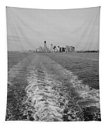 Lower New York In Black And White Tapestry