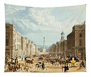 Lower Regent Street, Pub. By Ackermann Tapestry