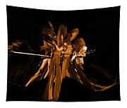 Ls Spo #68 Enhanced In Amber Squished Tapestry
