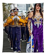 Lsu Marching Band 5 Tapestry