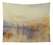 Lucerne From The Lake Tapestry