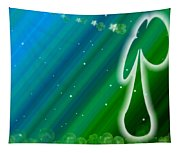 Lucky Irish Angel Kisses Tapestry