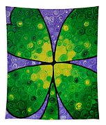 Lucky One Tapestry by Sharon Cummings