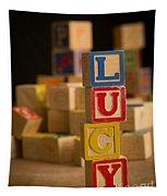Lucy - Alphabet Blocks Tapestry