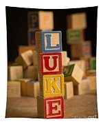 Luke - Alphabet Blocks Tapestry
