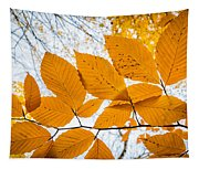 Luminescent Leaves Tapestry