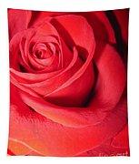Luminous Red Rose 6 Tapestry