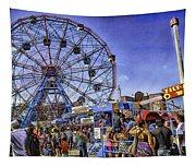 Luna Park 2013 - Coney Island - Brooklyn - New York Tapestry