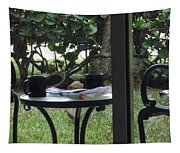 Lunch Guests Al Fresco Tapestry
