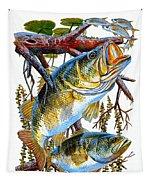 Lurking Bass Tapestry