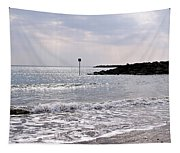 Lyme Regis Seascape - March Tapestry