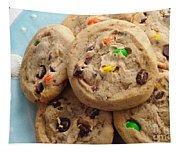 M And M - Chocolate Chip - Cookies - Bakery Shop Tapestry