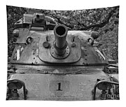 M60 Patton Tank Turret Tapestry