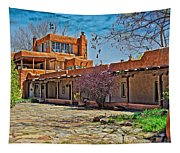 Mabel Dodge Luhan's Courtyard Tapestry