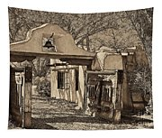 Mabel's Gate - A Different View Tapestry