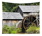 Mabry Mill Close Up Tapestry