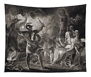 Macbeth, The Three Witches And Hecate Tapestry