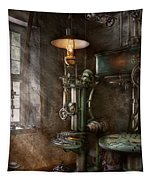 Machinist - Where Inventions Are Born Tapestry