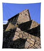 Machu Picchu Hut Peru Tapestry