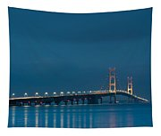 Mackinac Bridge Tapestry