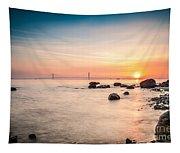 Mackinac Sunrise Tapestry