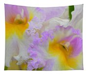 Macro Orchid Tapestry