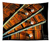 Mad For Mahjong Tapestry
