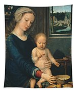 Madonna And Child With The Milk Soup Tapestry