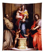Madonna Of The Harpies Tapestry