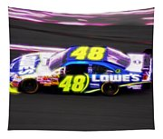Magical Jimmy Johnson  Tapestry