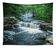 Magical Waterfall Stream Tapestry