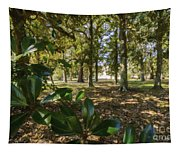 Magnolia Leaves Tapestry