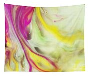 Magnolia Watercolor Abstraction Painting Tapestry