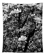 Magnolias In White Tapestry